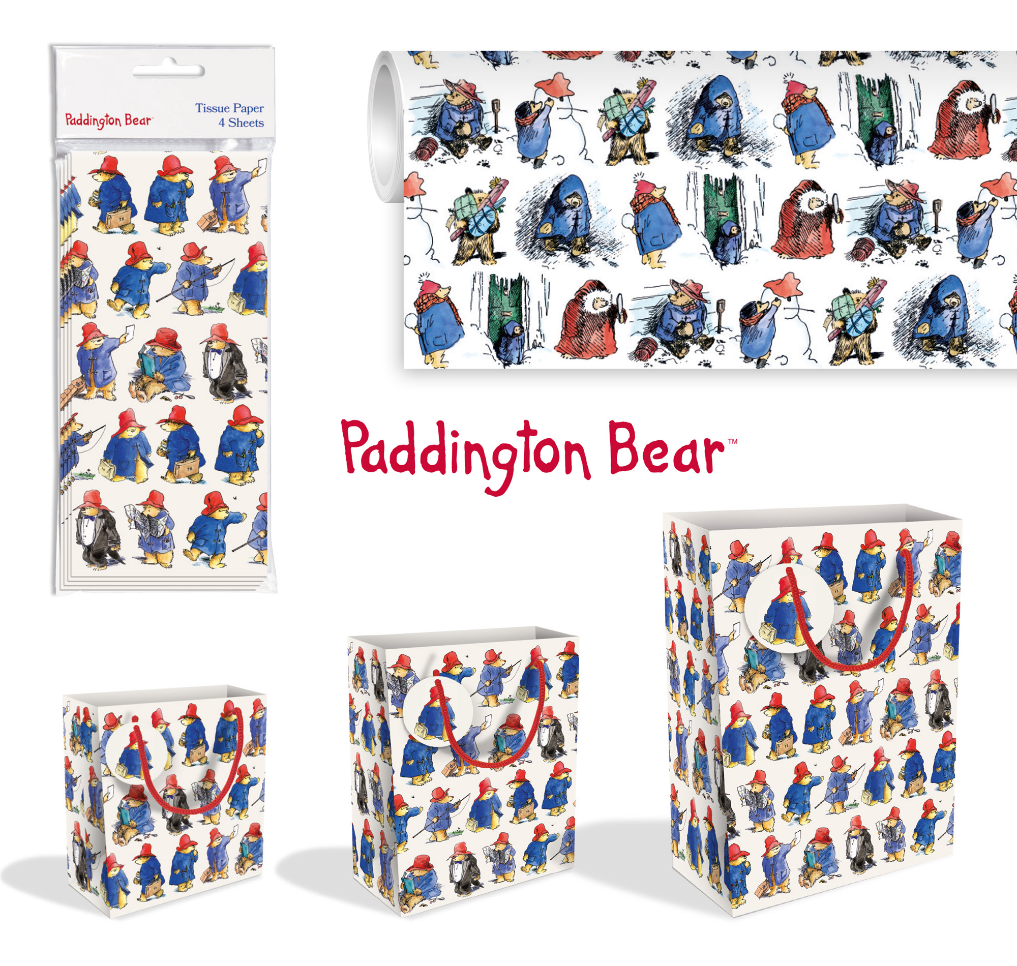 93fbef1813 Additional Paddington Bear Stationery available now